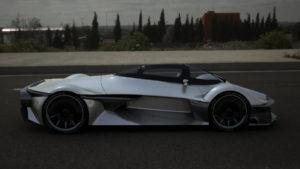 Waytomyaim — «Muleta» 3D модель. Вид справа. Серебро.