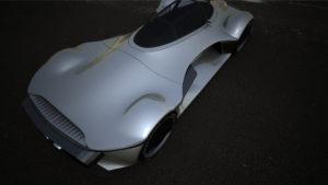 Waytomyaim — «Muleta» 3D модель. Сверху, сзади. Серебро.